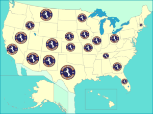 Visitor Map Sons Of Mile High - Send us map